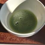 そば心 ゐ田 - 抹茶