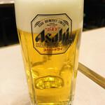 源来酒家 - 生ビール