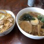 あだち - 料理写真:満腹ランチセット