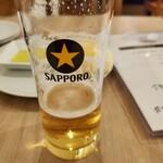 イタリアン酒場 SORRISOLE - HAPPY HOUR 生ビール(小)