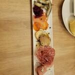 イタリアン酒場 SORRISOLE - 前菜盛り合わせ3種