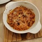 イタリアン酒場 SORRISOLE - トリッパのピリ辛トマト煮