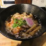 みのる製麺 - 料理写真:鶏清淡らーめん(700円、斜め上から)