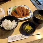 143921904 - トンカツ定食 800円(税込)