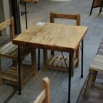 茶乃子 - 前にテーブルはあるけど