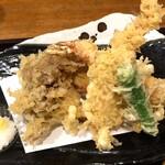 だぼう - 海老・舞茸・さつま芋