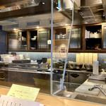 京の禅 車 - 店内(厨房)