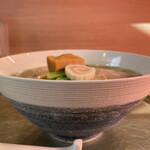 中華そば 深緑 - 丼