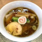 中華そば 深緑 - 「黒出汁(ロース)」1100円