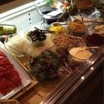 Ricotta Dining - サラダバイキング♪