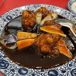 上海家庭料理 大吉 - 黒酢すぶた