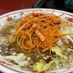 上海家庭料理 大吉 - 辛味ネギそば
