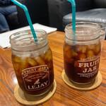 カフェ マスターズカフェ - 水出しアイスコーヒー ¥420-