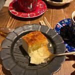 カカ チーズケーキストア - このあとビシャビシャにかけた