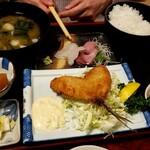 活魚料理仲の坂 - 刺身定食