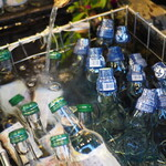 壱の井 - 湧水で冷えるラムネ