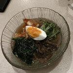 三恵苑 - 冷麺