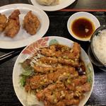 台湾菜館 弘城 - 油淋鶏定食