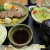 びーふ倶楽部三谷 - 料理写真:輸入牛ロース網焼き定食1700円