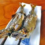 青木屋 - 料理写真:鮎の塩焼(2尾)