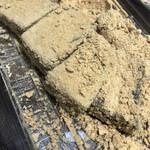 北海道ロコファームビレッジ - やわらかくて美味しーい きな粉も甘さ控えめで良い◎