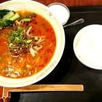 広東料理 柏林苑 - 名物担々麺定食♪