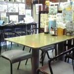 グリル喫茶・ビアレストラン・サンビーム - テーブル席が並ぶ店内