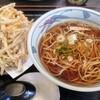 Sobatetsu - 料理写真:牛蒡天蕎麦。見えんけど2枚重ねはチと多い