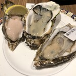 143961021 - 牡蠣3種食べ比べ