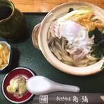 そば処 角弥 - 鍋焼きうどん