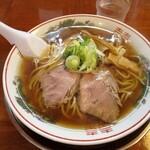 煮干中華 あさり - 中華そば550円
