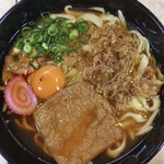うどんの萬栄 - 料理写真:『特製うどん   七〇〇円なり』