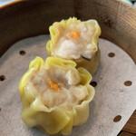 中国料理 桃李 - 黄金豚ロースと海老入り桃李焼売