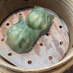 中国料理 桃李 - 海老と韮入り蒸し餃子