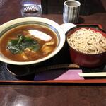 勘十郎 - 料理写真:カレー丼セット