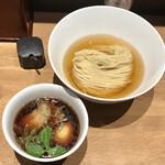 143969875 - 鰹昆布水つけ麺(醤油)