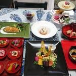 杉幸園 - 料理写真:1月のおまかせコース、税込3500円です。個室でお食事して頂けます。