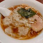 中華そば ほんこん - 料理写真:中華ワンタンそば
