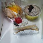 ドゥース・ド・フランスアトリエ - ケーキ
