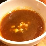 トリンピッグ - つけ麺:つけ汁