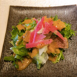 magokorosousakushigeta - 前菜 青パパイヤのサラダ