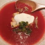 magokorosousakushigeta - ビーツスープ