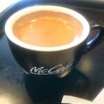 マクドナルド - ドリンク写真:エスプレッソコーヒー