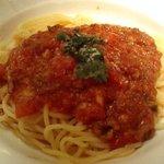 144983 - ハミングバード・穴子とチーズのトマトソースパスタ(2007/03)