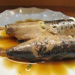 和さび - 金太郎鰯の煮付け。