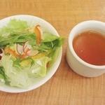 京の洋食工房 MOLLette - 【New!】セットサラダとスープ