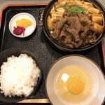 144000443 - すき焼き定食