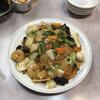 清香園 - 料理写真:五目焼きそば大盛(1,100円)。具沢山で餡も甘すぎず、魚介の旨味が強い。蒸し麺もゴワゴワしていて、旨い!