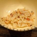 虎白 - 香箱蟹の土鍋炊き込みご飯
