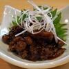 石臼挽き手打 蕎楽亭 - 料理写真:穴子の肝の佃煮